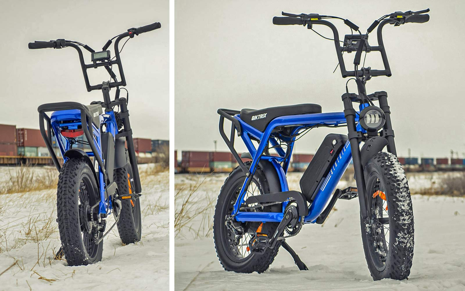 Biktrix Moto e-bike, urban mobility eMTB e-moped alternative transportation, details