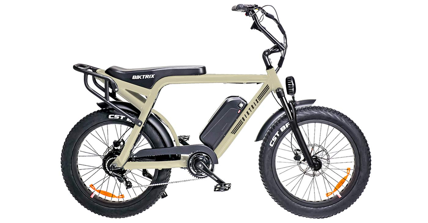 Biktrix Moto e-bike, urban mobility eMTB e-moped alternative transportation