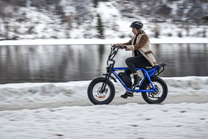 Biktrix Moto e-bike, urban mobility eMTB e-moped alternative transportation,winter commuter