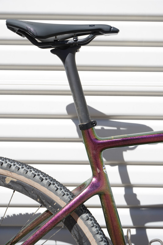 all new Aspero-5 Aero Gravel Bike review seat post