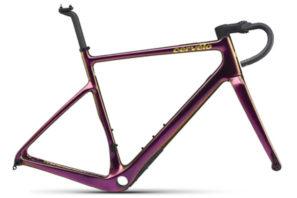 Cervelo Aspero-5 aero gravel bike frame purple