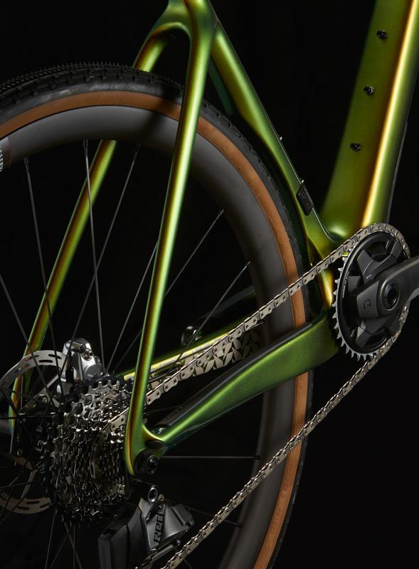Cervelo Aspero-5 aero gravel bike rear stays