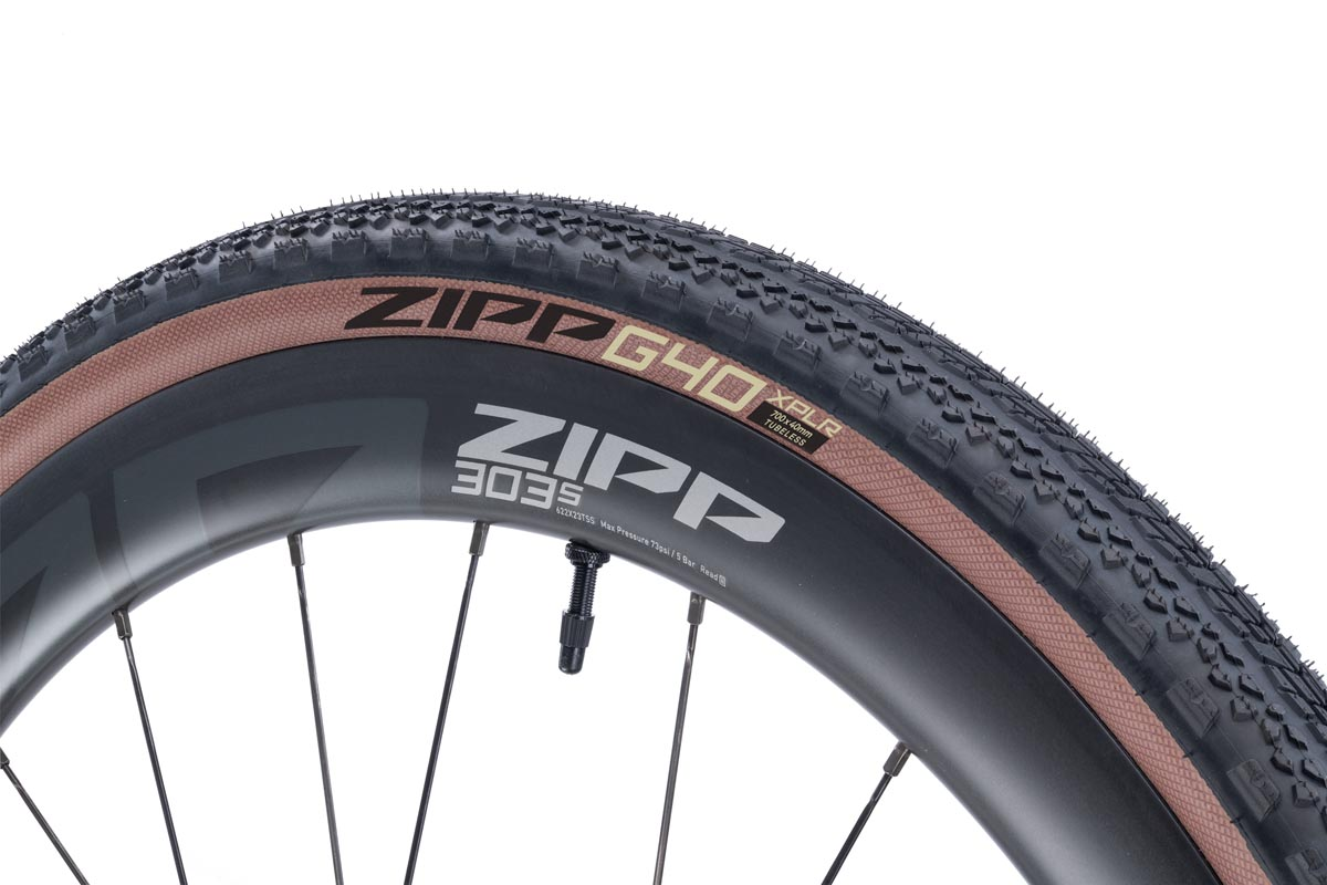 Zipp g40 XPLR tire