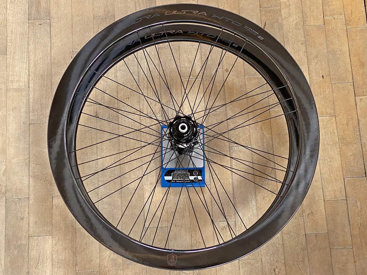 2021 Campagnolo Bora Ultra WTO 45 aero carbon road bike wheels, 1224g actual weight