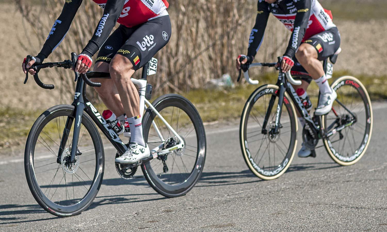 2021 Campagnolo Bora Ultra WTO aero carbon road bike wheelset, Lotto Soudal