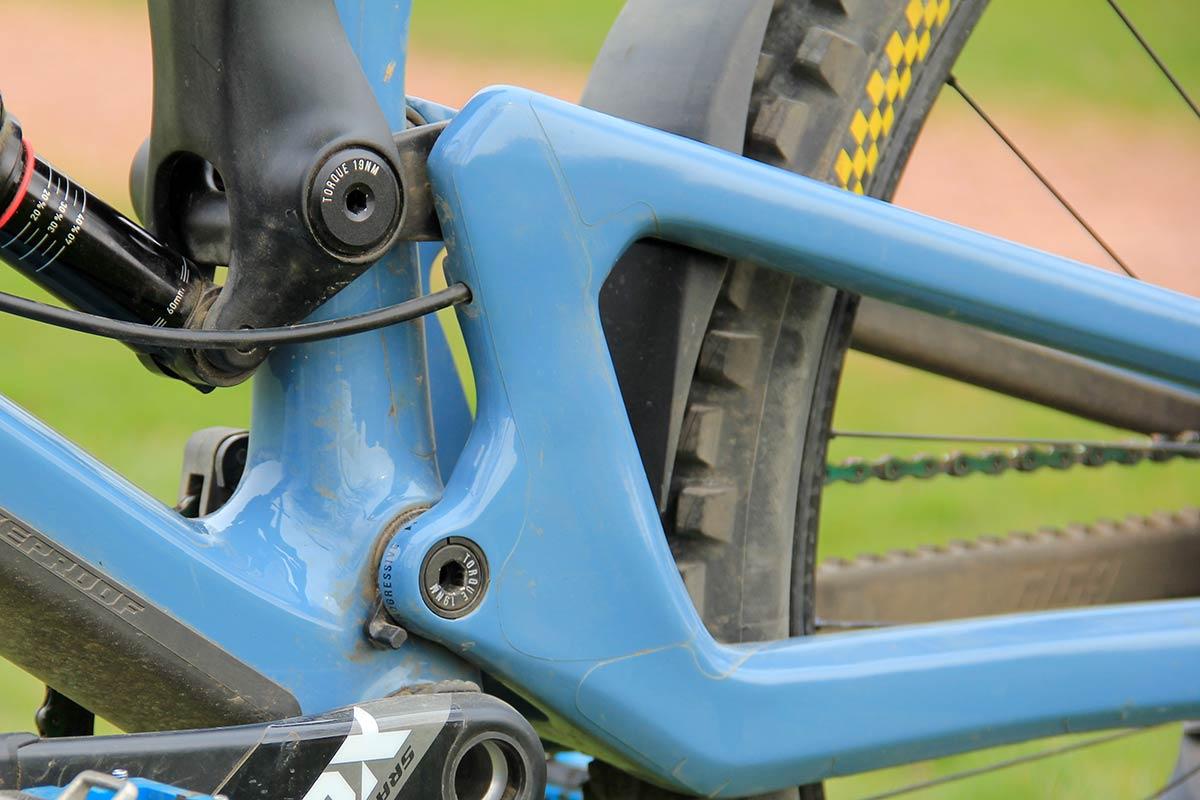 2021 katy winton pro bike check nukeproof giga mullet progression setting