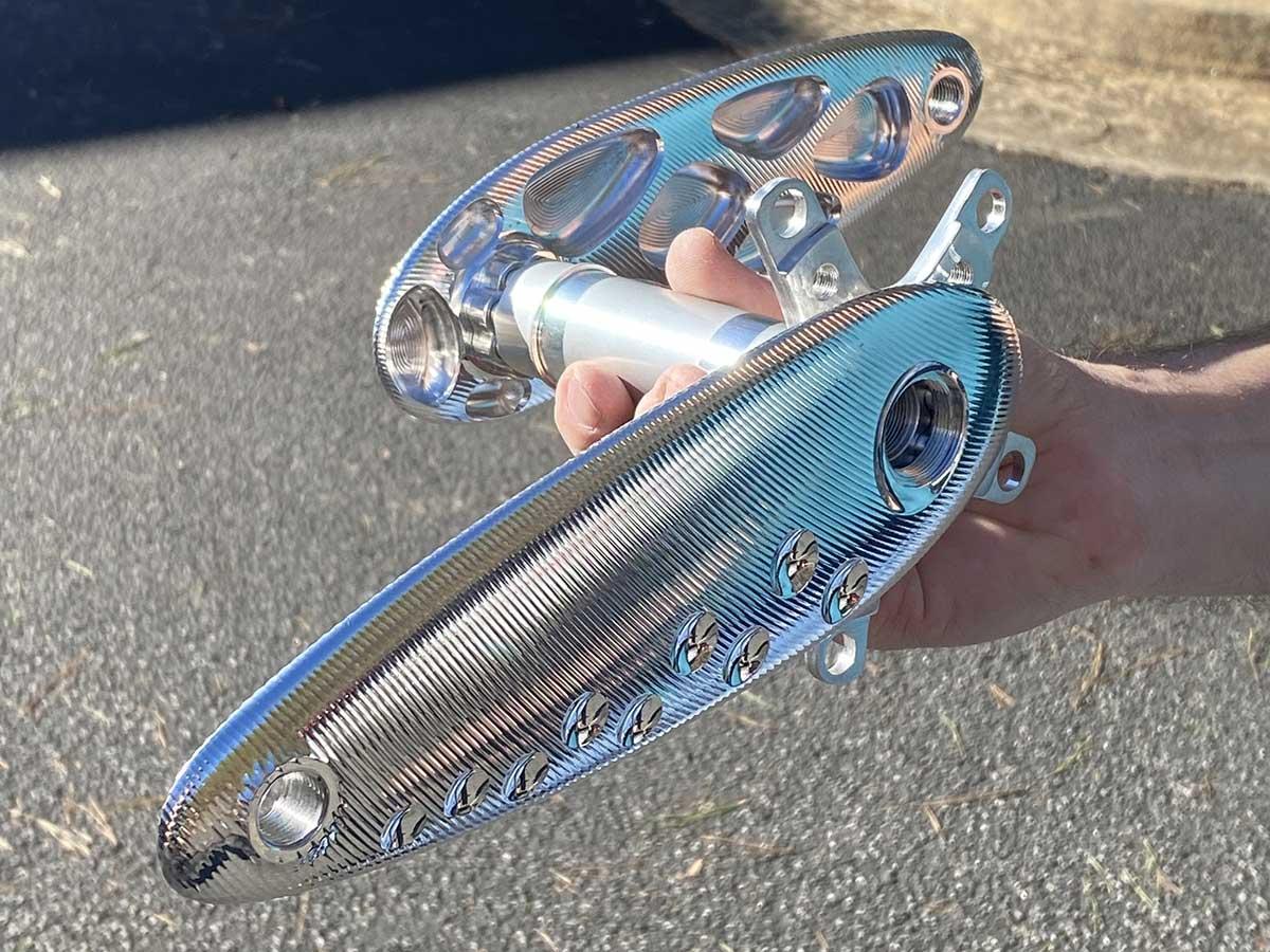 boone cranx! aluminium crank set aerodynamic 175mm arms