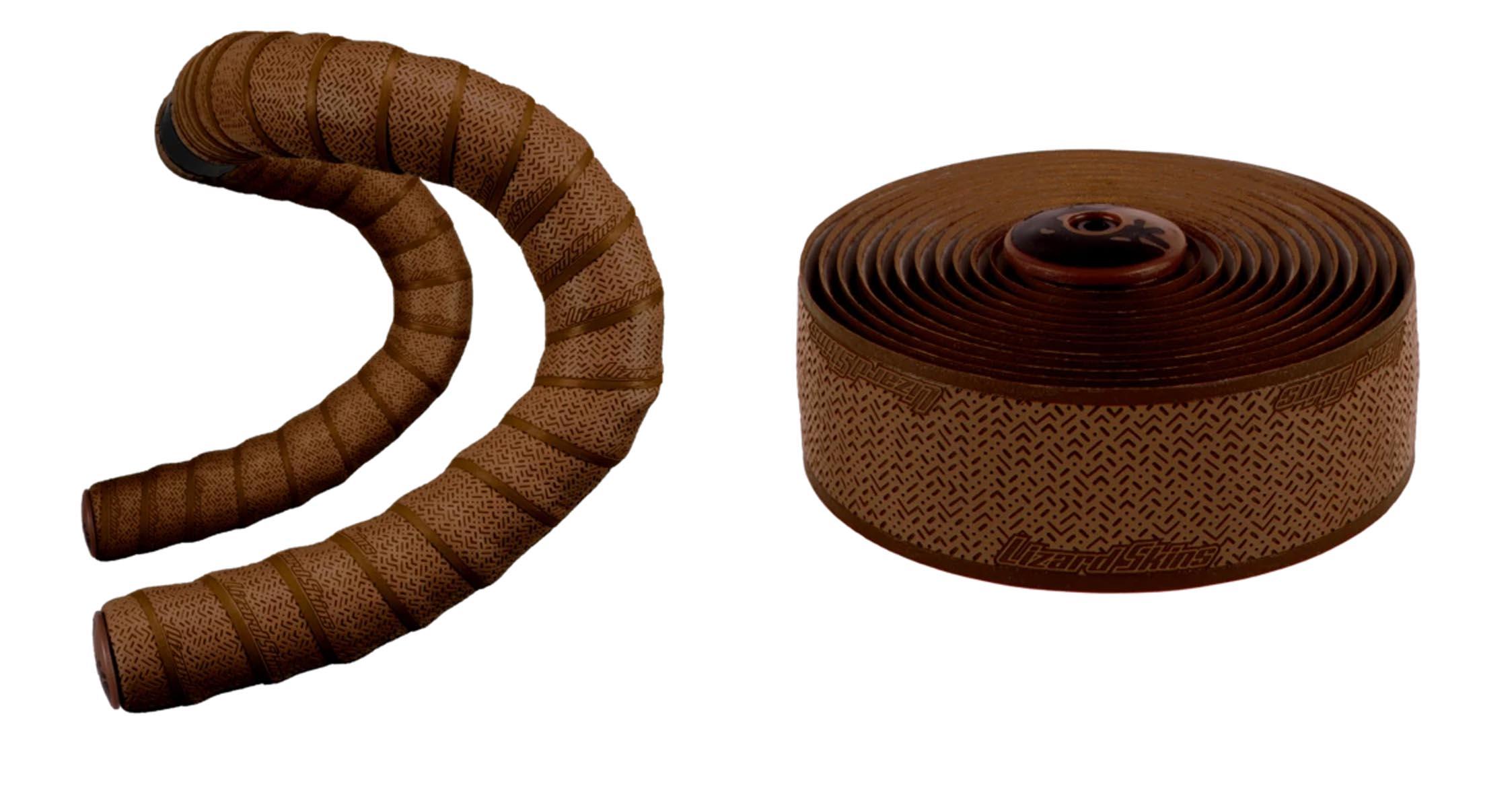 earth tone V2 DSP handlebar tape chocolate