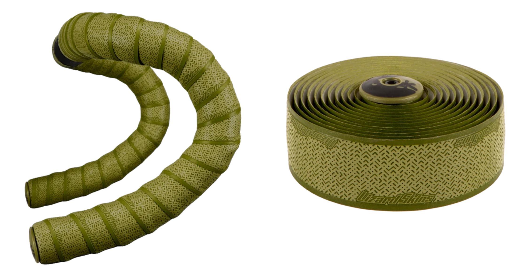 earth tone V2 DSP handlebar tape olive green