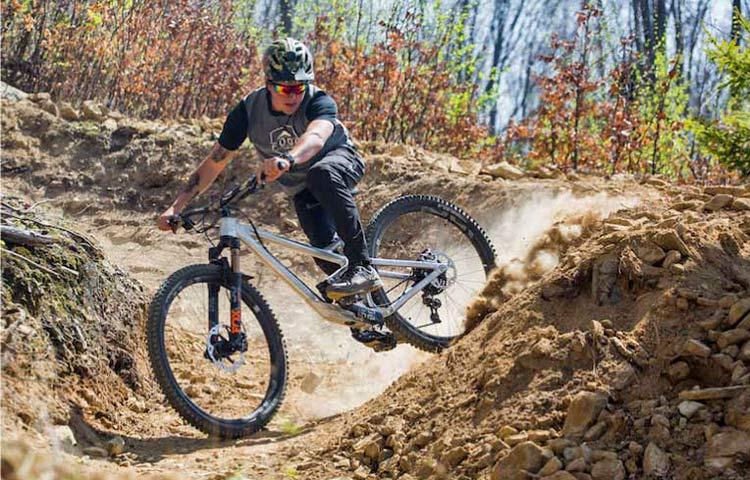 2021 Prime Thunderflash EN bike, affordable consumer-direct carbon 29er enduro mountain bike,adjustable test mule