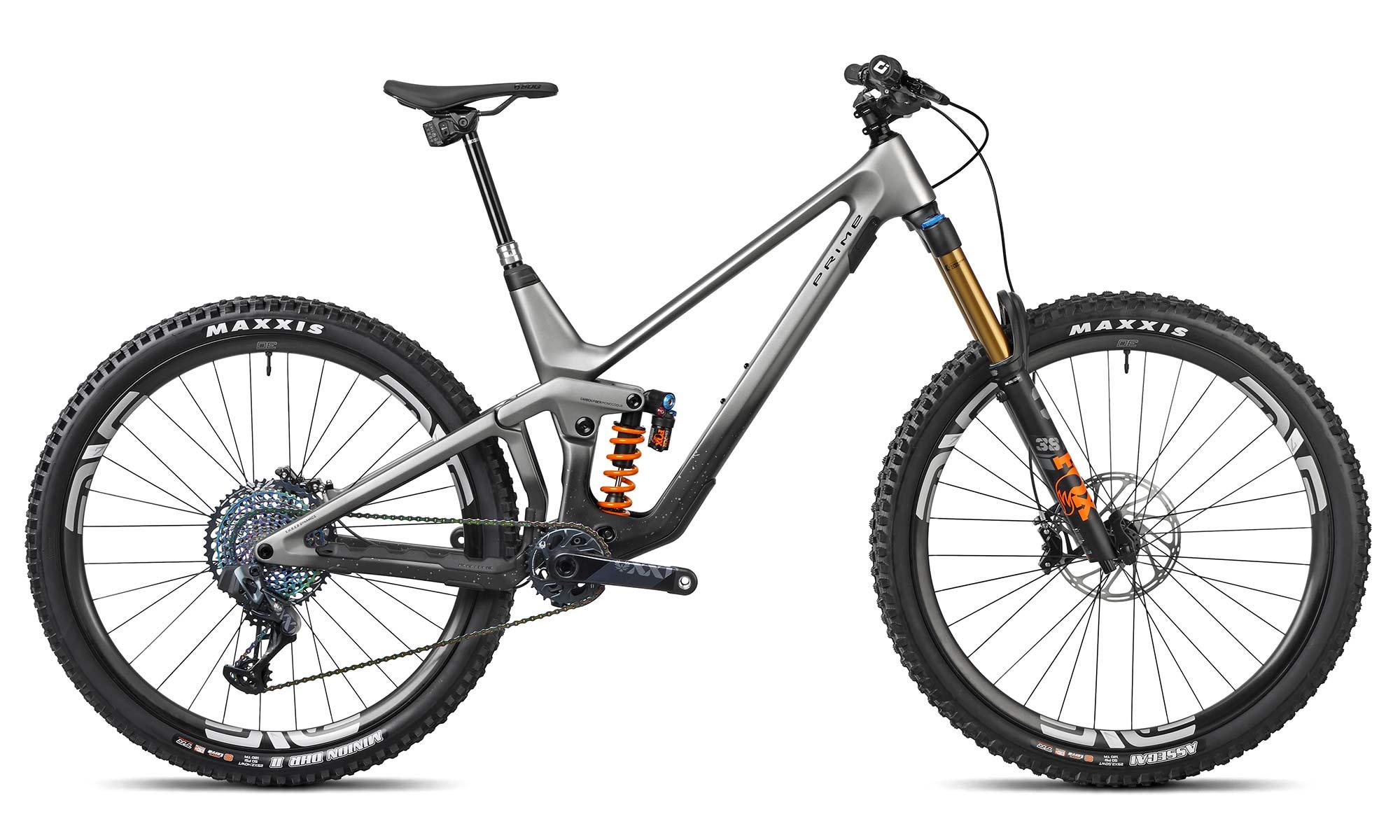 2021 Prime Thunderflash EN bike, affordable consumer-direct carbon 29er enduro mountain bike, RSX