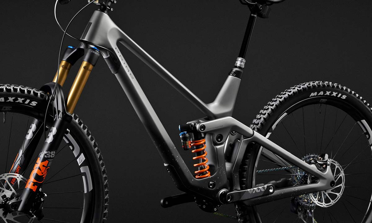 2021 Prime Thunderflash EN bike, affordable consumer-direct carbon 29er enduro mountain bike, frame
