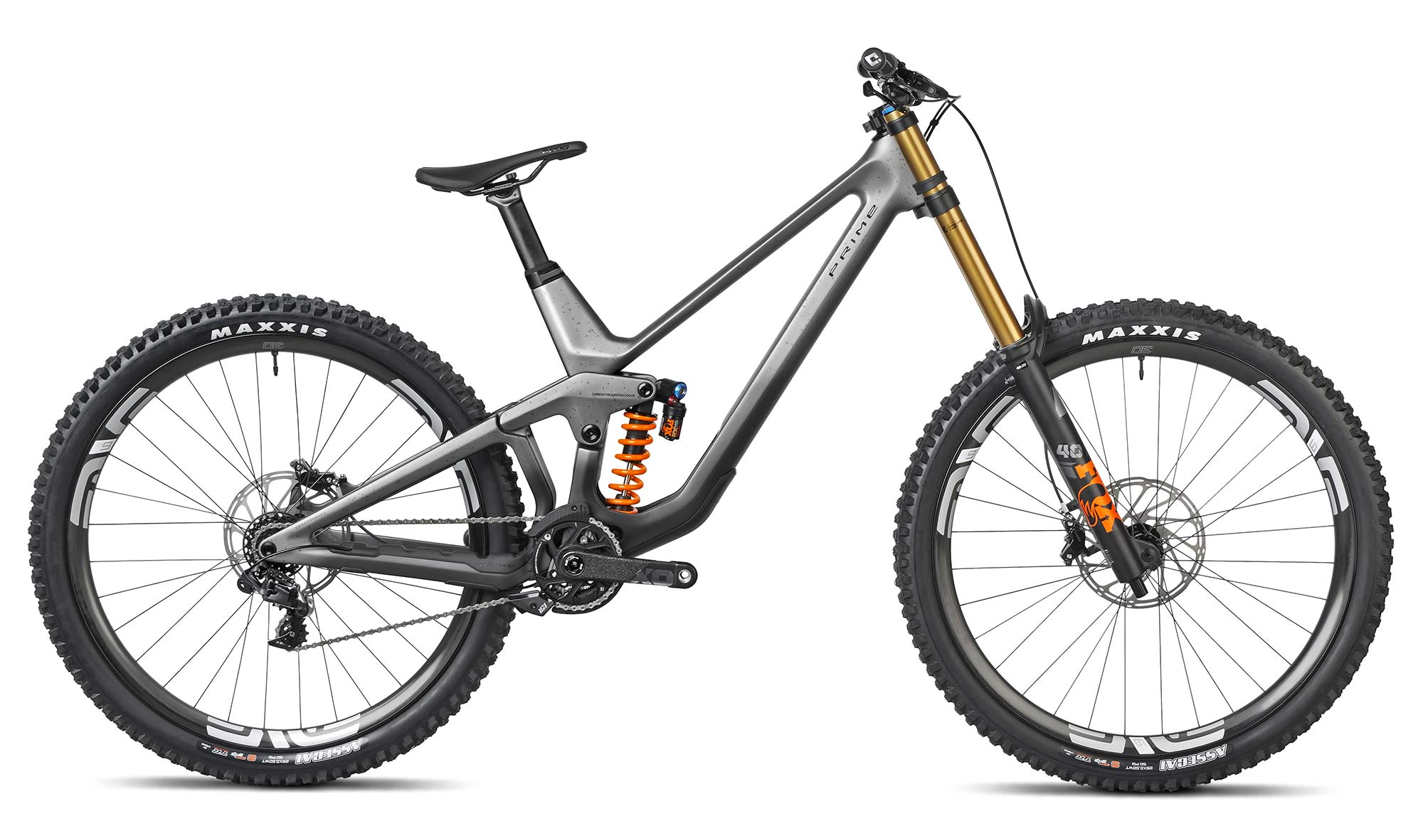 2021 Prime Rocket DH bike, affordable consumer-direct carbon 29er downhill mountain bike,RS complete