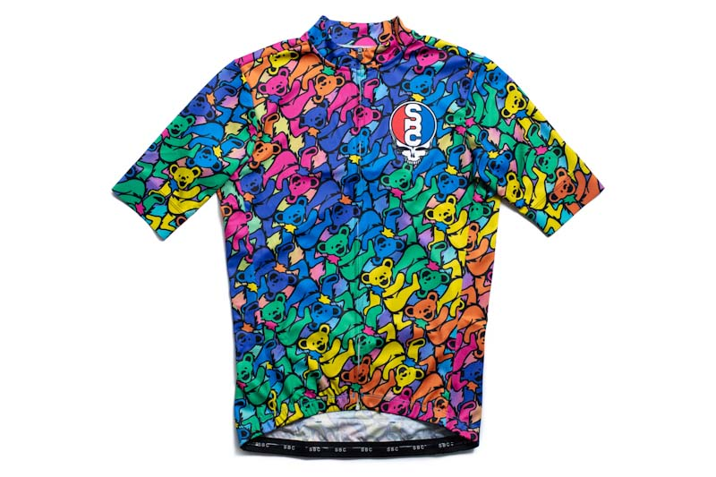 State Bicycle Co. x Grateful Dead, dancing bears jersey
