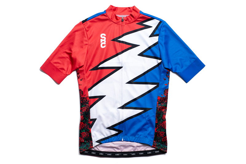 State Bicycle Co. x Grateful Dead, Lightning Bolt jersey