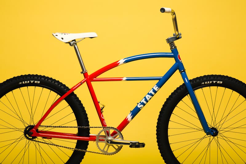 State Bicycle Co. x Grateful Dead, Lightning Bolt Klunker