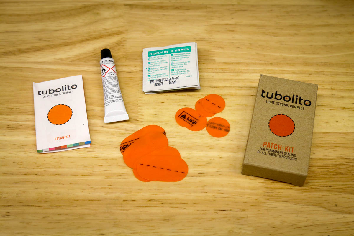 Tubolito PSENS smart inner tube patch kit