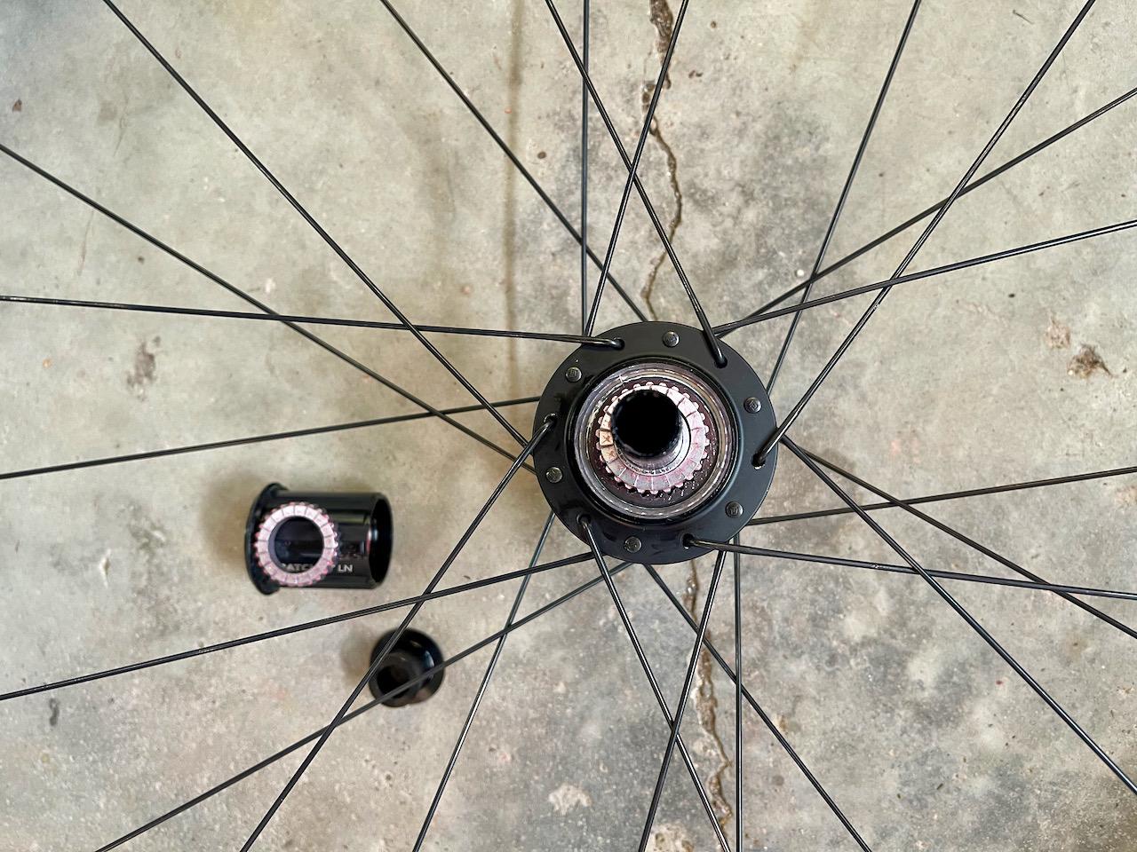 Roval C38 carbon wheels hub internals