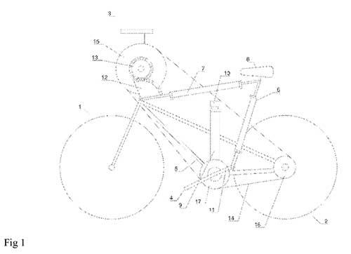 labor-saving bike
