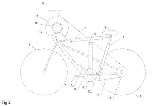labor saving bike