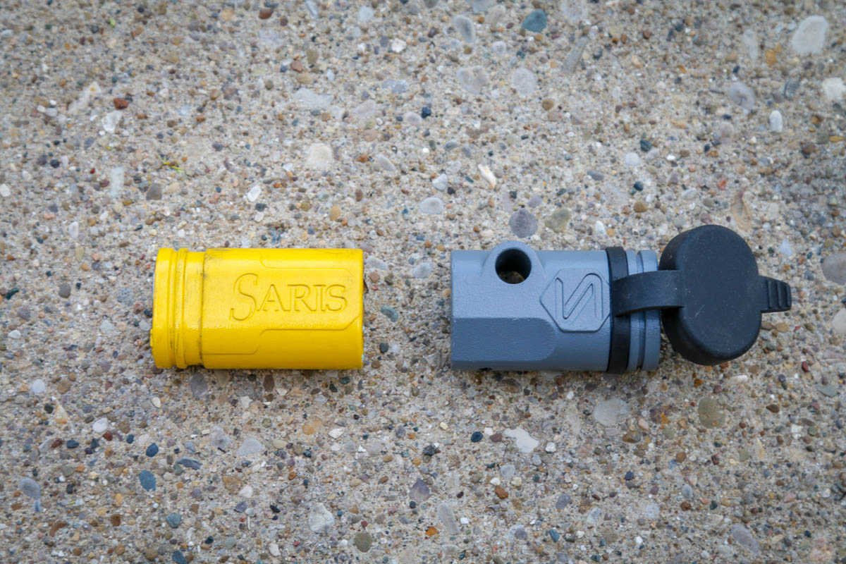 Saris Swing Away Hitch adapter lock for hitch pin