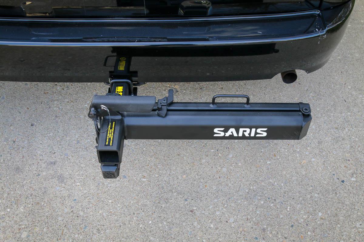 Saris Swing Away Hitch adapter on Honda Element