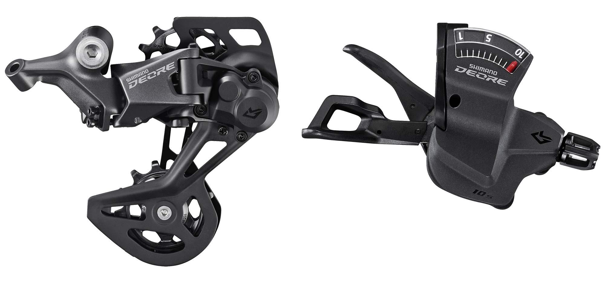 Shimano Deore XT LinkGlide drivetrain is 3x more durable, new LG MTB long-wearing mountain bike groupset,Deore 1x10