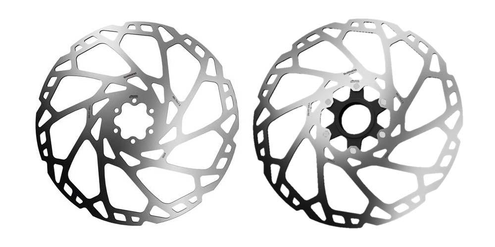 Huge 220mm Shimano Deore/SLX MTB disc brake rotors