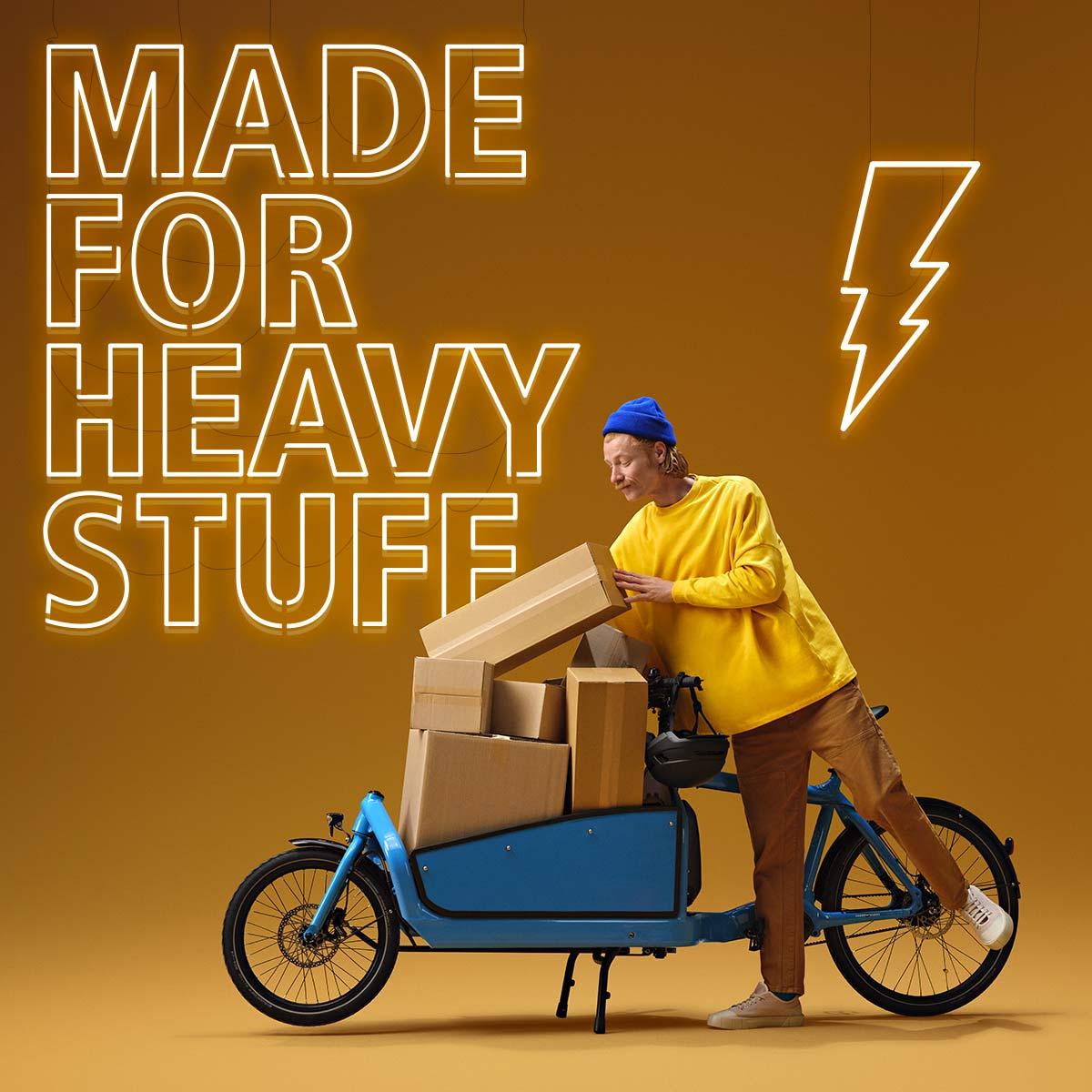 Shimano Cargo e-bikes, heavy-duty electric motor cargo-specific power tunes,made for heavy stuff