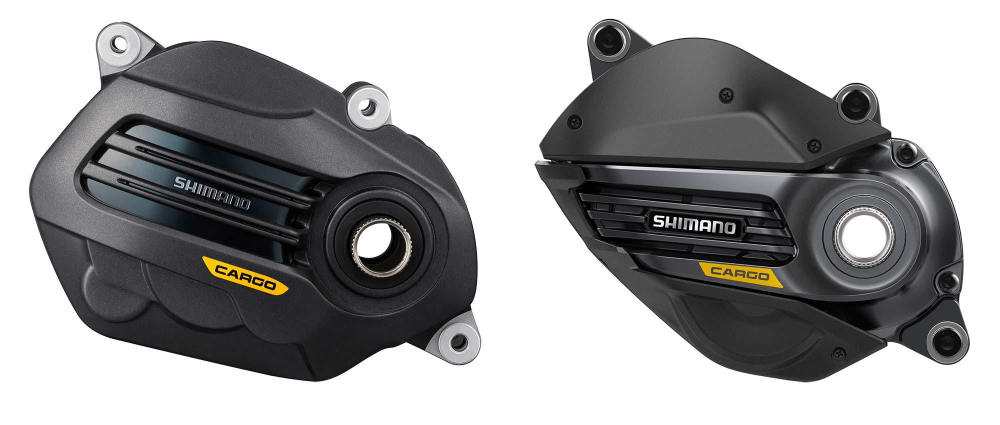 Shimano Cargo e-bikes, E6100 vs. EP8eavy-duty electric motor cargo-specific power tunes,