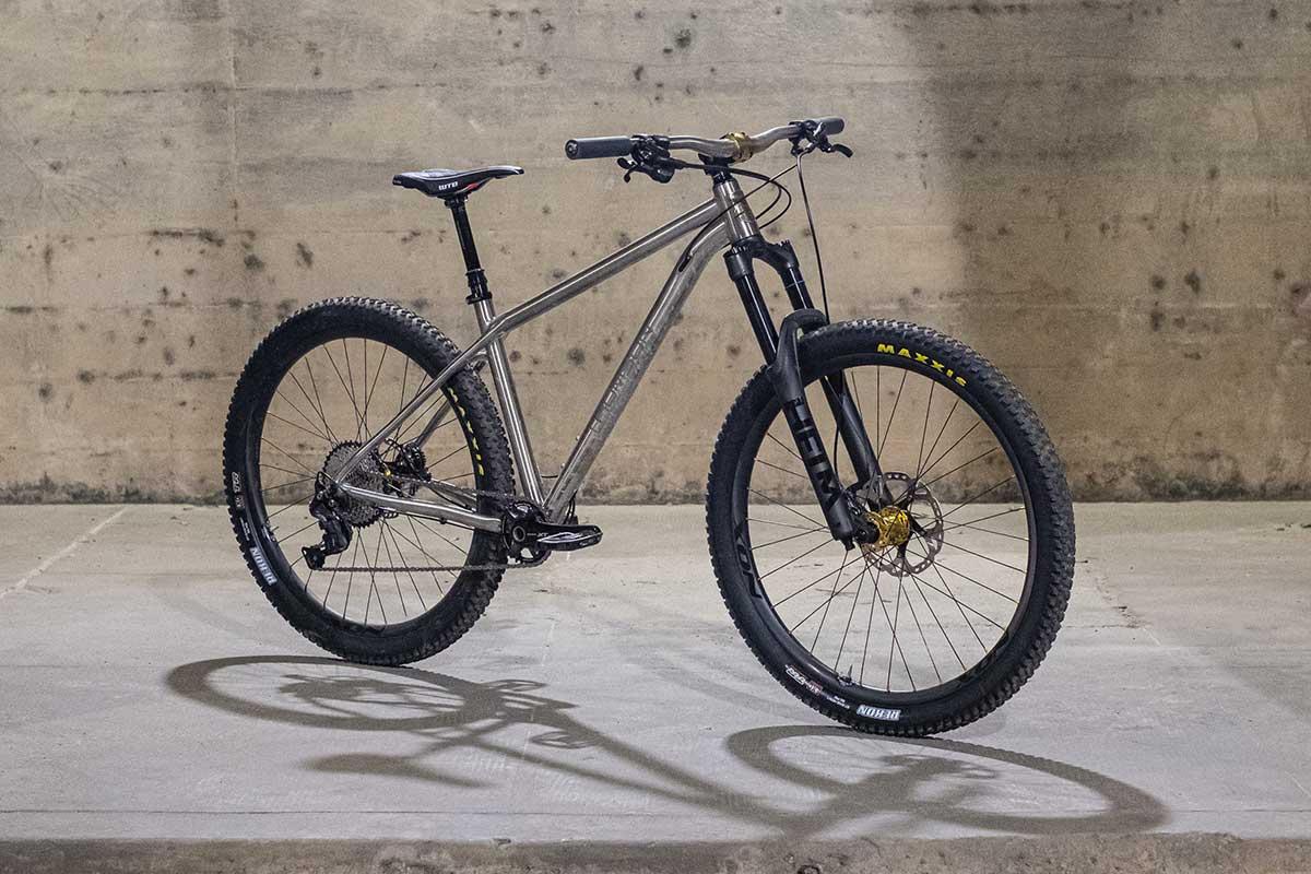 thomson hooch titanium hardtail bike