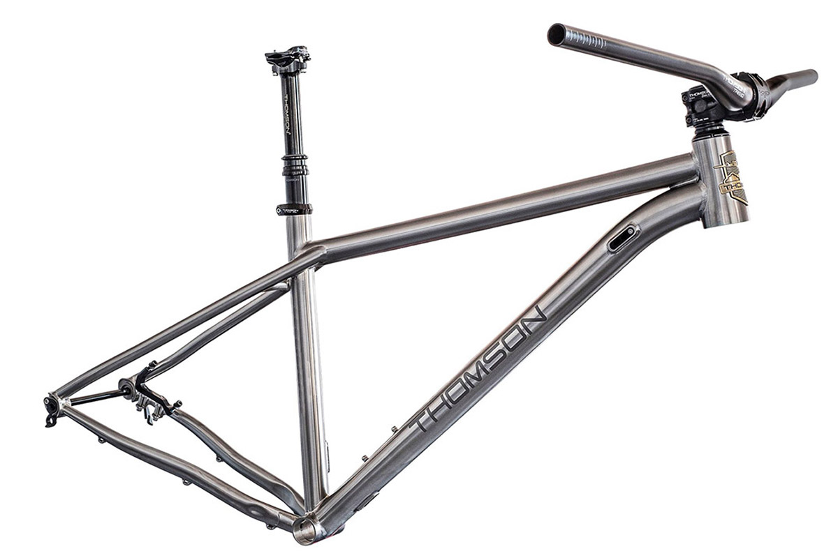 thomson titanium hardtail mtb frame hooch
