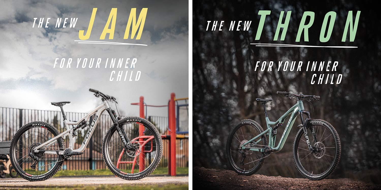 2021 Focus THRON 130mm trail & JAM150mm all-mountain bikes, affordable alloy MTB trail bike,teasers