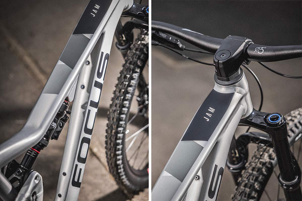 2021 Focus JAM affordable alloy 150mm 29er trail MTB all-mountain bike,details
