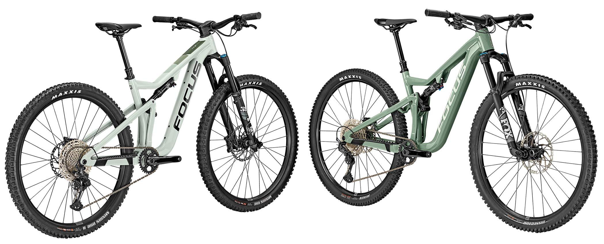 2021 Focus THRON 130mm trail & JAM150mm all-mountain bikes, affordable alloy MTB trail bike,head to head