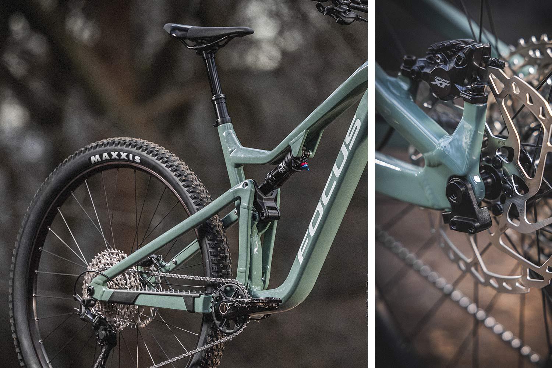 2021 Focus THRON affordable alloy 130mm 29er trail MTB mountain bike,details