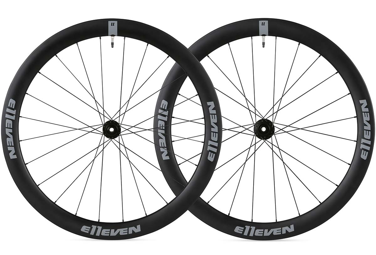 ellev gravel 50mm carbon rim disc wheelset