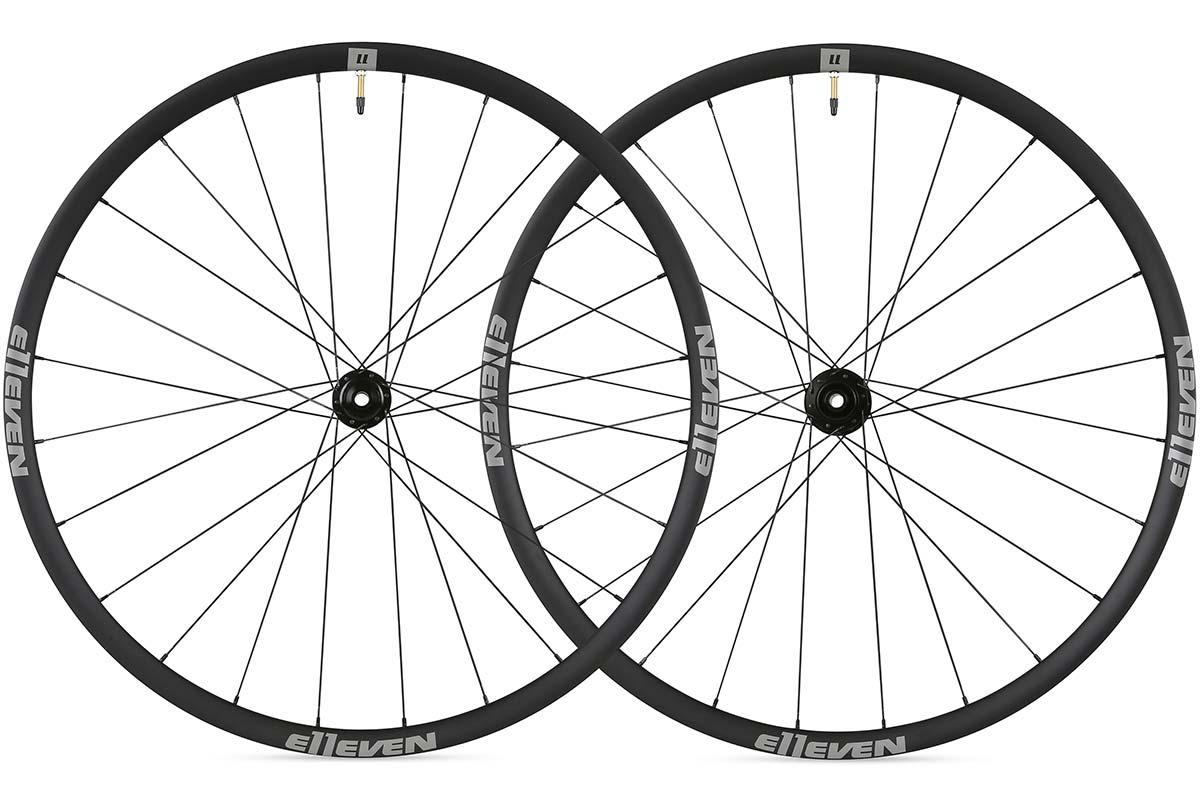 e11even alloy gravel wheelset 25mm deep rims for 28c 50c tires
