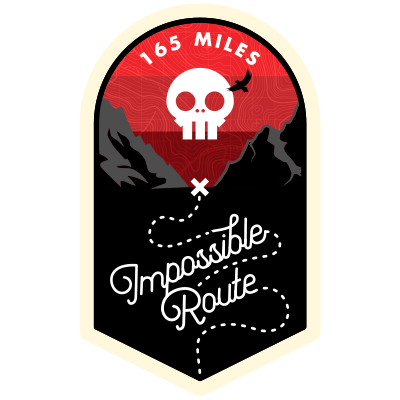The Impossible Route strava challenge