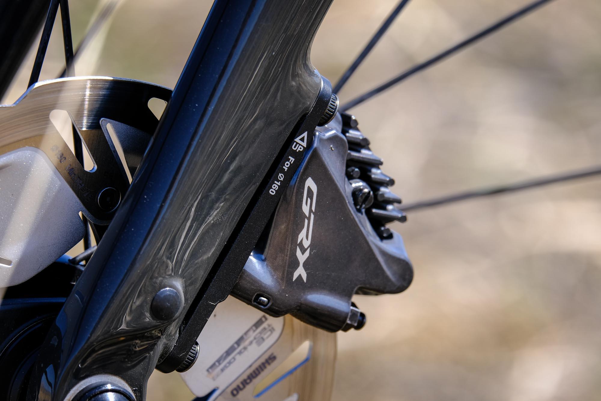 GRX brake caliper