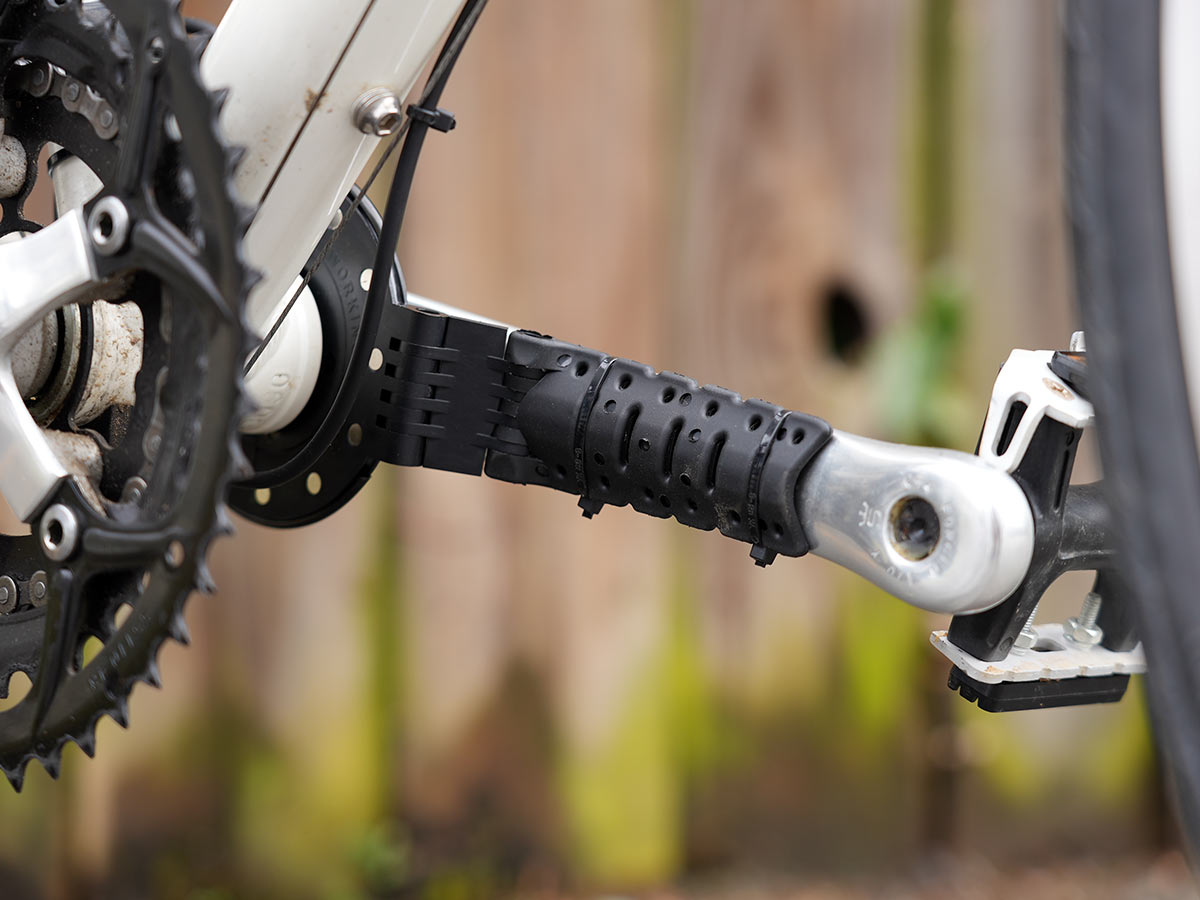 swytch crank arm attachment to add a pedal sensor to your bike