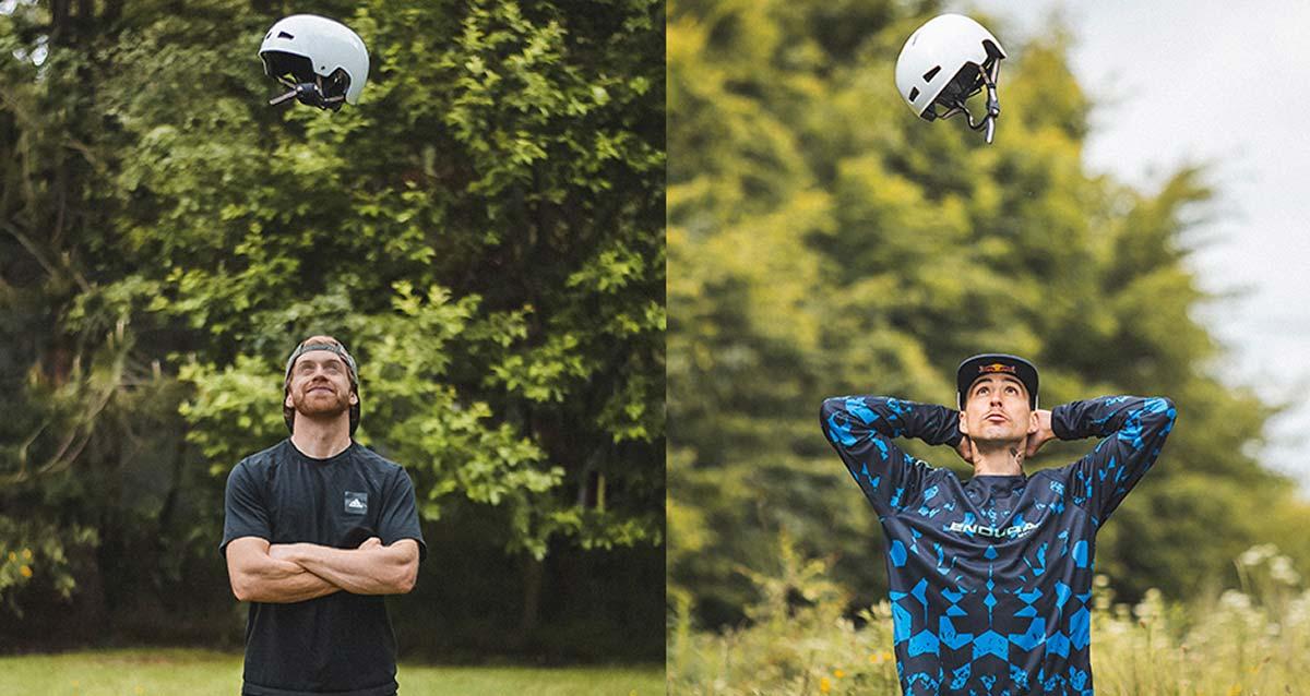 macaskill and kyle wear endura pisspot helmet
