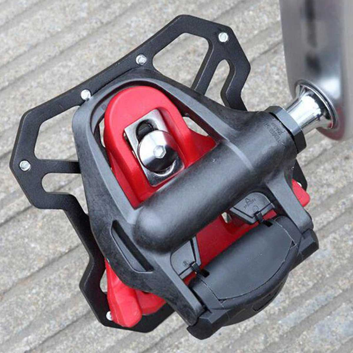 crankworks clipless pedal adapter look cleats