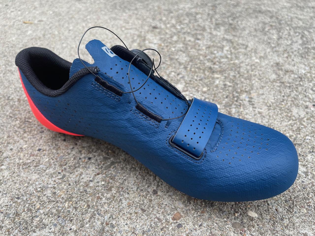 Bontrager Circuit shoe BOA close up