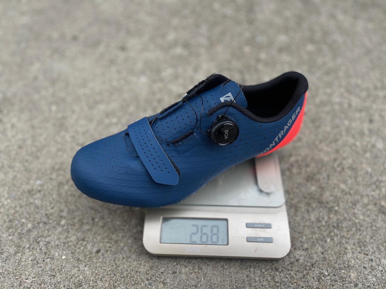 Bontrager Circuit shoe weight