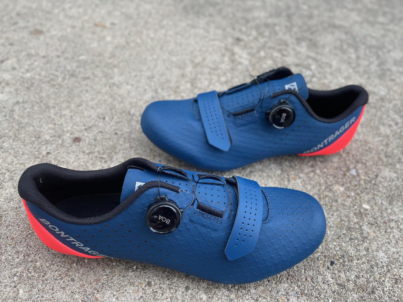 Bontrager Circuit shoe shoes details upper