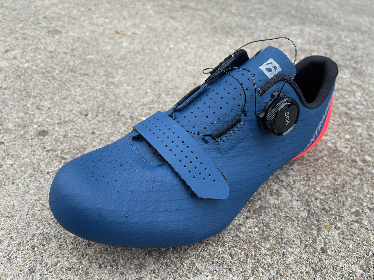 Bontrager Circuit shoe BOA undone