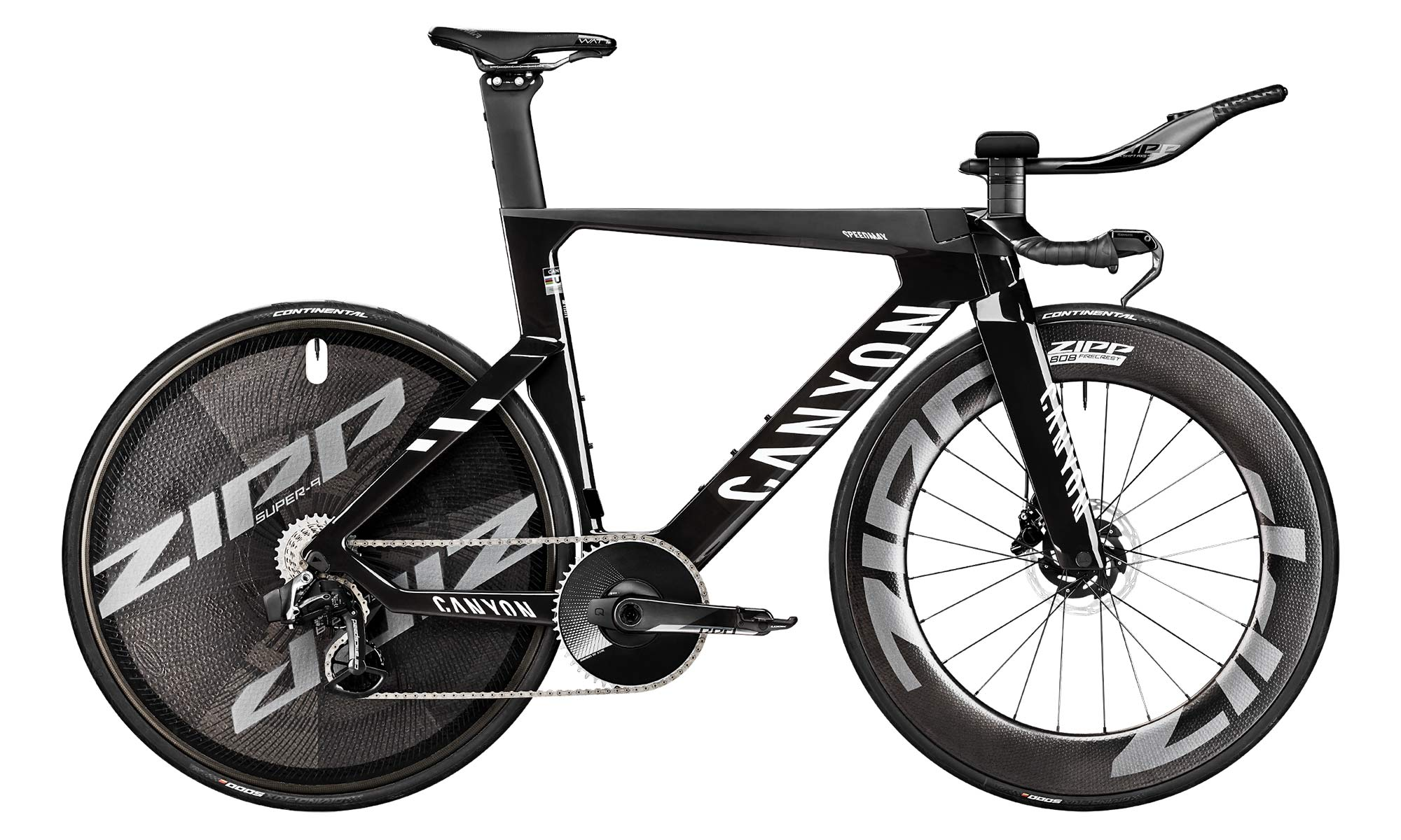2021 Canyon Speedmax CFR TT Disc, carbon race-ready UCI-approved time trial bike,complete