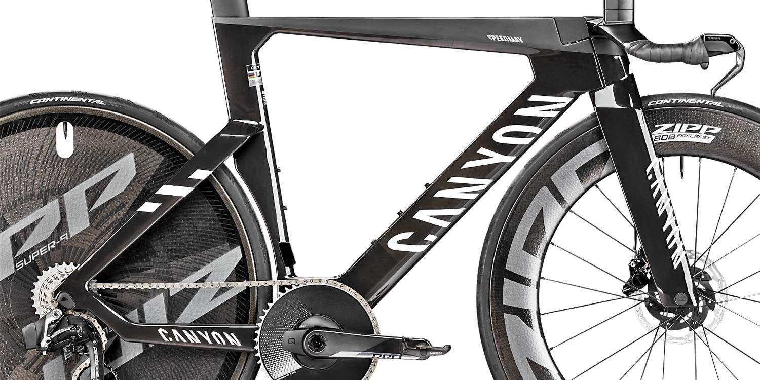 2021 Canyon Speedmax CFR TT Disc, carbon race-ready UCI-approved time trial bike,frameset