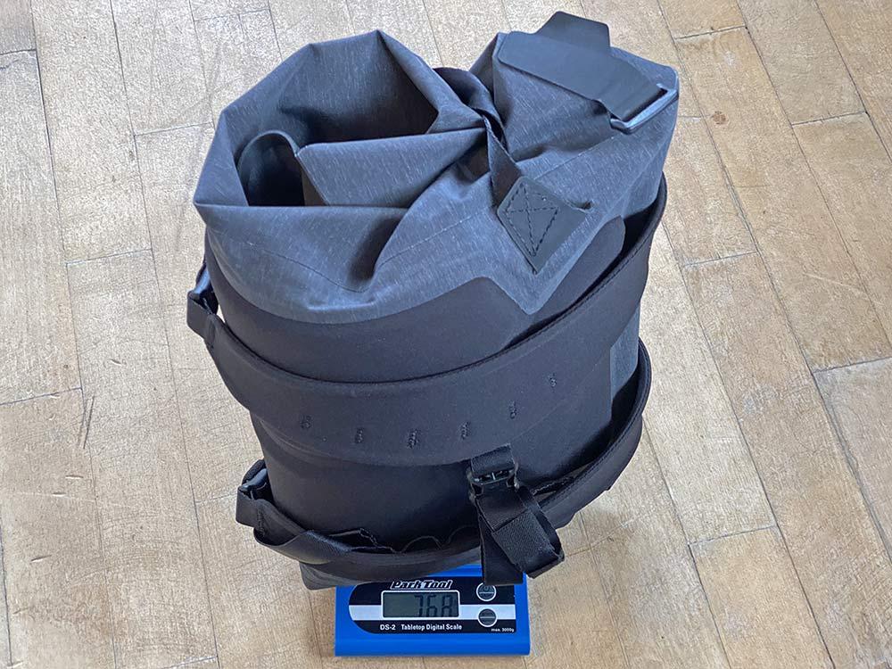 Apidura City Backpack, waterproof bikepacking tech in city commuter bag,768g actual weight